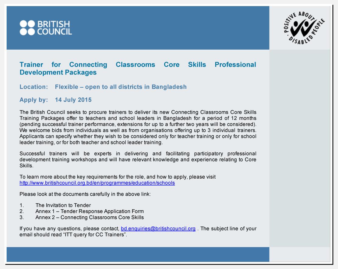 Job at British Council | Search Latest Circular